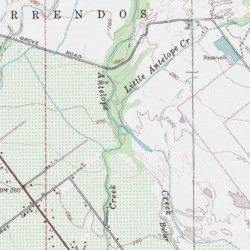 Little Antelope Creek Tehama County California Stream Red Bluff