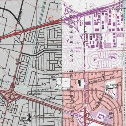 Plaza Del Rey Mobile Home Park Santa Clara County California Populated Place Milpitas USGS Topographic Map By MyTopo