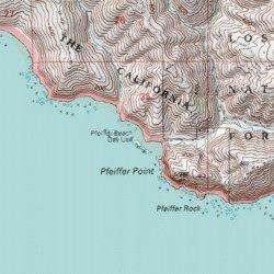 Pfeiffer Beach Monterey County California Beach Pfeiffer Point