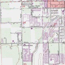 Map Of California Yuba City.South Yuba City Sutter County California Populated Place