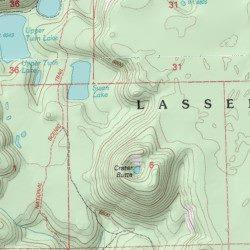 Lassen Volcanic Wilderness Shasta County California Reserve