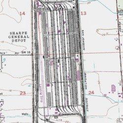 Sharpe Army Depot San Joaquin County California Military Lathrop