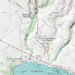 Hearst Castle California Map.Hearst Castle Fire Department San Luis Obispo County California
