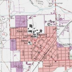 Coalinga California Map.Coalinga High School Fresno County California School Coalinga
