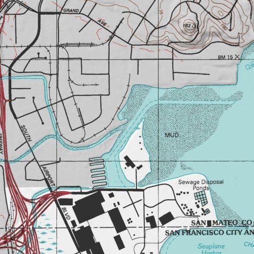 Colma Creek San Mateo County California Stream San Francisco