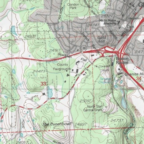 Topographic Map Of Nevada.Nevada County Fairgrounds Nevada County California Park Grass