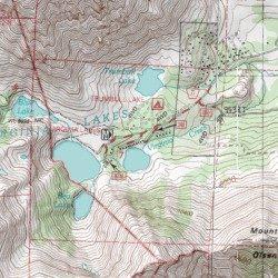 Virginia Lakes Resort Mono County California Locale Dunderberg