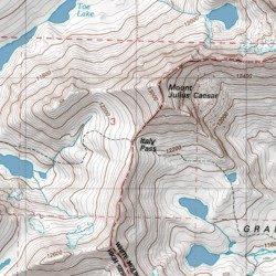 Topographic Map Italy.Italy Pass Inyo County California Gap Mount Hilgard Usgs