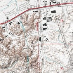 City Of Santa Clarita Los Angeles County California Civil - Los angeles topographic map