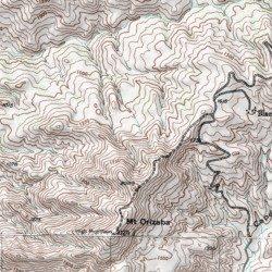Santa Catalina Island Los Angeles County California Island - Los angeles topographic map