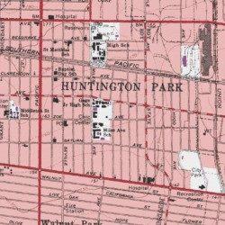 City Of Huntington Park Los Angeles County California Civil