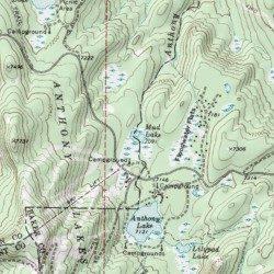 Mud Lake Baker County Oregon Lake Anthony Lakes USGS - Map of oregon lakes
