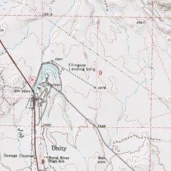 Unity Oregon Map.Ellingson Lumber Company Airstrip Baker County Oregon Airport