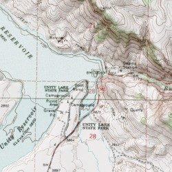 Unity Oregon Map.Unity Lake State Recreation Site Boat Ramp Baker County Oregon