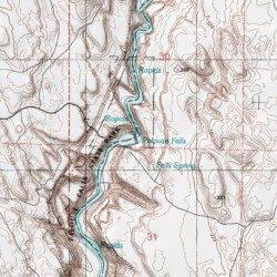 Palouse Falls Washington Map.Palouse Falls Franklin County Washington Falls Palouse Falls