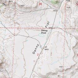 Unity Oregon Map.Denny Flat Baker County Oregon Flat Unity Usgs Topographic Map