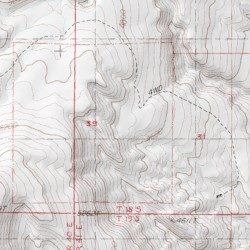 Darwin California Map.Darwin Falls Wilderness Inyo County California Reserve Darwin