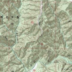 San Mateo Canyon Wilderness Riverside County California Reserve Sitton Peak Usgs Topographic Map By Mytopo