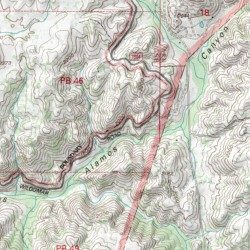 Los Alamos Truck Trail Riverside County California Trail Wildomar Usgs Topographic Map By Mytopo