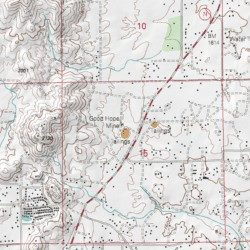Good Hope Mine Riverside County California Mine Lake Elsinore Usgs Topographic Map By Mytopo