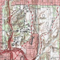Balboa Park San Diego County California Park Point Loma Usgs Topographic Map By Mytopo
