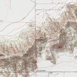 Domenigoni Mountains Riverside County California Range Winchester Usgs Topographic Map By Mytopo