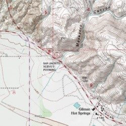 Massacre Canyon Riverside County California Valley San Jacinto Usgs Topographic Map By Mytopo