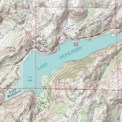 Topographic Map Of San Diego.Lake Wohlford San Diego County California Reservoir Rodriguez