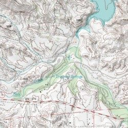 Crossbar Oaks Campground Riverside County California Locale Vail Lake Usgs Topographic Map By Mytopo