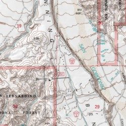 Banning Bench Riverside County California Bench Beaumont Usgs Topographic Map By Mytopo