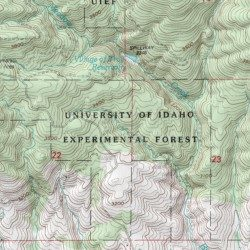University Of Idaho Experimental Forest Latah County Idaho