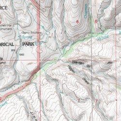 Hagen Draw, Idaho County, Idaho, Valley [White Bird USGS