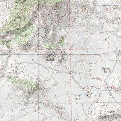 Trio Mines, San Bernardino County, California, Mine [Ivanpah