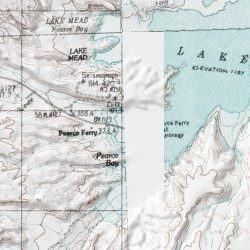 Pearce Arizona Map.Pearce Ferry Mohave County Arizona Locale Meadview North Usgs