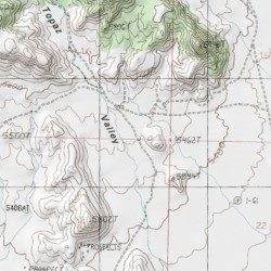 Topaz Mountain Utah Map.Topaz Valley Juab County Utah Valley Topaz Mountain East Usgs
