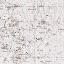 Map Of Arizona Strip.Vulture Gold Mine Landing Strip Maricopa County Arizona Airport