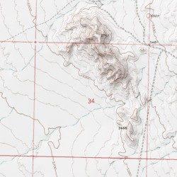 Rock Hounding Area Juab County Utah Area Picture Rock Hills Usgs