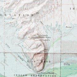 Map Of Arizona Indian Ruins.Fortaleza Indian Ruins Maricopa County Arizona Locale Citrus