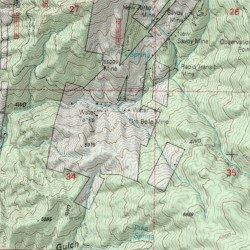 Map Of Crown King Arizona.Oro Belle Mine Yavapai County Arizona Mine Crown King Usgs
