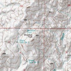 Brooklyn Peak Yavapai County Arizona Summit Brooklyn Peak Usgs