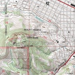 Mount Helena City Park Lewis And Clark County Montana Park - Mt topo maps