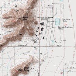 Map Of Central Arizona.Central Arizona College Signal Peak Campus Filberto Rudolfo Ortiz