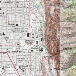Va Hospital Utah Map.Utah State Hospital Utah County Utah Hospital Provo Usgs