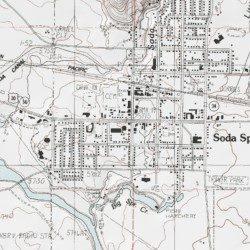 Soda Springs Caribou County Idaho Populated Place Soda Springs
