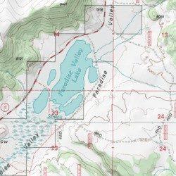 Paradise Utah Map.Paradise Valley Sevier County Utah Basin Johns Peak Usgs