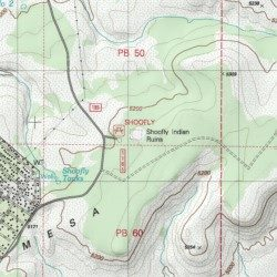 Map Of Arizona Indian Ruins.Shoofly Indian Ruins Gila County Arizona Locale Payson North