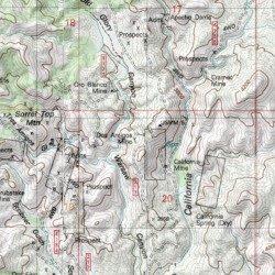 Ruby Arizona Map.Dos Amigos Mine Santa Cruz County Arizona Mine Ruby Usgs