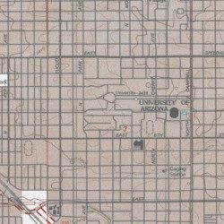 Map University Of Arizona.University Of Arizona Marley Building Pima County Arizona School