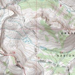 Teton Crest Trail, Teton County, Wyoming, Trail [Rendezvous