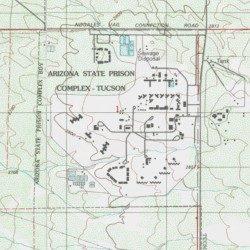 Map Of Arizona Prisons.Arizona State Prison Complex Tucson Pima County Arizona Building